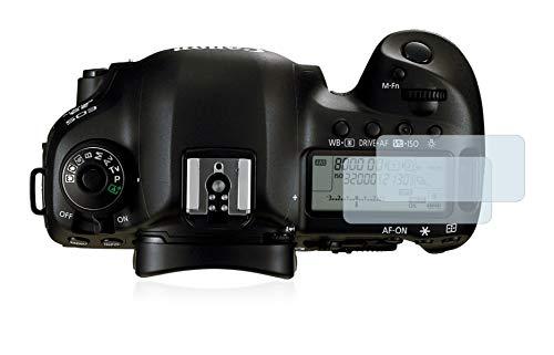 BROTECT Protector Pantalla Completa Compatible con Canon EOS 5D Mark IV (Pantalla de Hombro) (2 Unidades) 3D Curvo