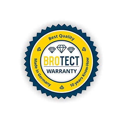 BROTECT Protector Pantalla Cristal Compatible con Mazda Navigation System Tomtom NB1 Protector Pantalla Vidrio - Dureza Extrema, Anti-Huellas