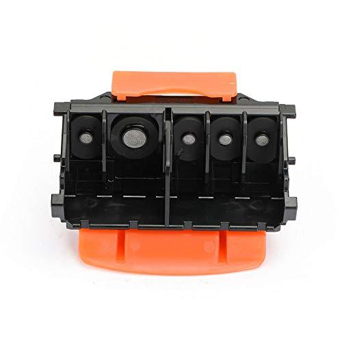 Cabezal De Impresión QY6-0080 para IP4820 MX892 MG5320 IX6510 IX6560 MX882 MX886 IP4850 MG5250 MX892 IX6550 MG5320 MG5350 IP4850 MG5250 MX892 IX6550 (Multicolor con Soporte Amarillo)