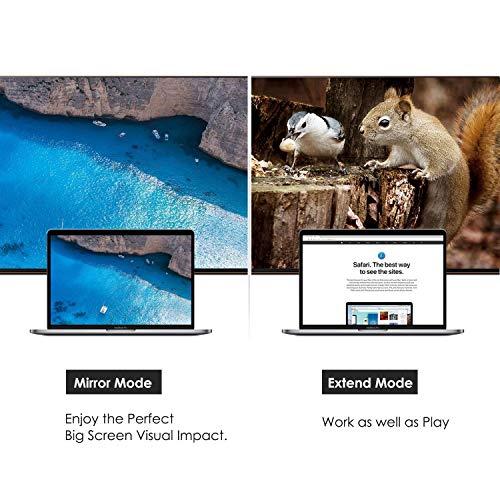 CableCreation Oro Super Speed USB 3.0/2.0 al Adaptador de HDMI para Windows, Mac y Más, Nueva Generación IC chipset, Diseño más Compatible, apoya hasta hasta 2560x1440, Color Negro