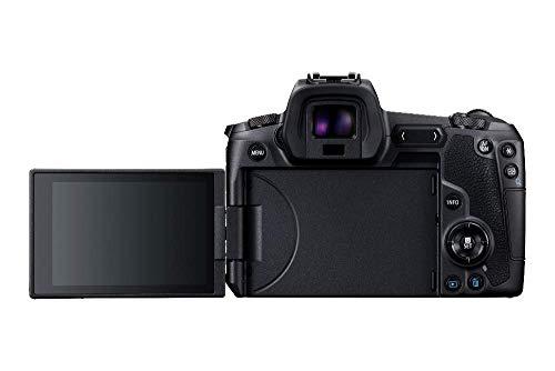 Canon EOS R - Cámara compacta de 30.3 MP (Wi-Fi, Bluetooth, Sensor Dual Pixel CMOS AF, ISO, 4K) Negro - Kit con Cuerpo y Mount Adapter EF-EOS R