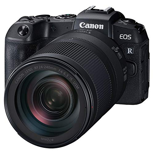 Canon EOS RP - Cámara de 26.2 MP (CMOS, DIGIC 8, Dual Pixel CMOS AF, 5 imágenes por Segundo, Pantalla táctil LCD, 4K) - Kit con RF 24-240mm f/4-6.3 IS Nano USM
