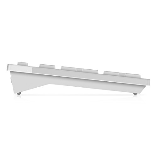 Dell Keyboard + Mouse Set Membrane KM636 - US INTL White 580-ADGF (USB 2.0; (US); White Color; Optical)