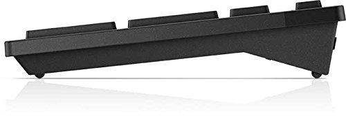 DELL KM636 - Teclado (Bluetooth, Inalámbrico, USB, Batería, Negro, De plástico)