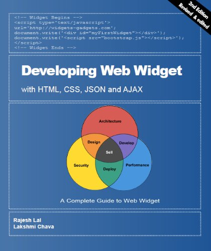 Developing Web Widget with HTML, CSS, JSON and AJAX (English Edition)
