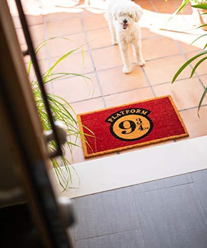 ERIK - Felpudo entrada casa Andén 9 3/4, Harry Potter (40 x 60 cm)