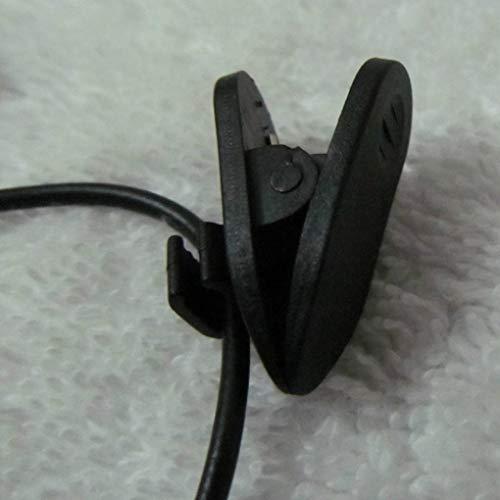 Flushzing del teléfono móvil de grabación de Audio con Clip Tipo Mini micrófono de Cuello de Solapa Entrevista 3.5mm Mic, 1pc