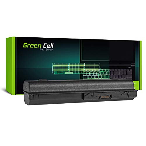 Green Cell Batería para HP Pavilion DV6-2157US DV6-2157WM DV6-2160EQ DV6-2160ER DV6-2160ES DV6-2160EZ DV6-2166TX DV6-2167SS DV6-2170EO DV6-2170EP Portátil (6600mAh 10.8V Negro)