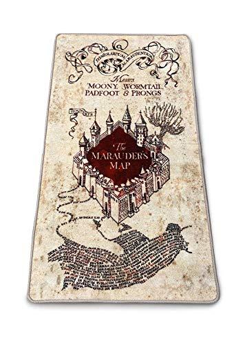 Groovy Alfombra Marauders Map 76 x 133 cm Harry Potter