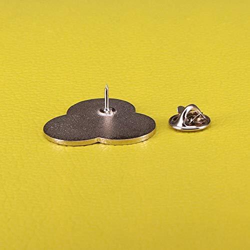 GuDeKe CMYK Esmalte Pin Tinta Swatch Broche Artista Impresora Joyas