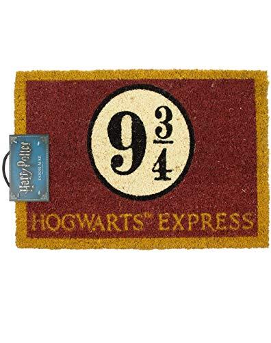 Harry Potter Hogwarts Express 9 3/4 Door Mat