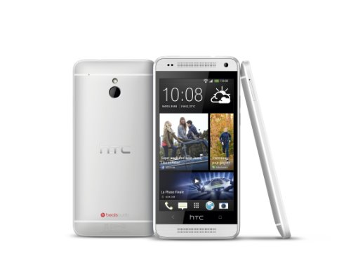 "HTC One Mini - Smartphone libre Android (pantalla 4.3"", cámara 4 Mp, 16 GB, 1.4 GHz, 1 GB RAM, WiFi), plateado (importado)"