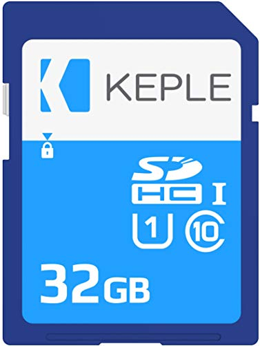 Keple 32GB 32Go SD Tarjeta de Memoria di High Speed SD Card Compatible con Olympus Pen E-PL7, Stylus SH-2, 1S, SH-1, Tough TG-3, TG-4, TG-860 DSLR Digital Camera | 32 GB UHS-1 U1 SDHC Karte