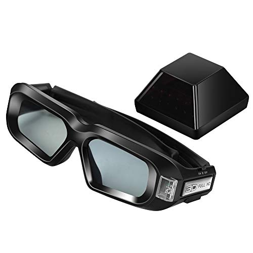 Kit de gafas estéreo 3D inalámbricas con emisor para tarjeta gráfica nVidia