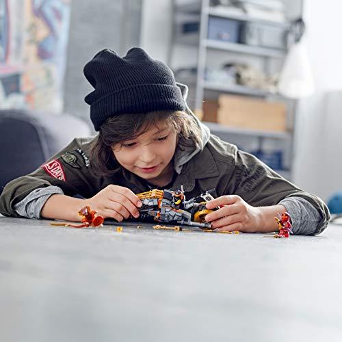 LEGO Ninjago - Moto Todoterreno de Cole Motocicleta Ninja de Juguete con Rueda de Oruga, incluye dos Minifiguras de Ninjas, Novedad 2019 (70672) , color/modelo surtido