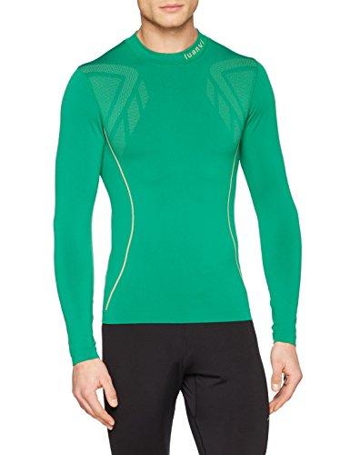 Luanvi Sahara Camiseta térmica, Hombre, Verde, M