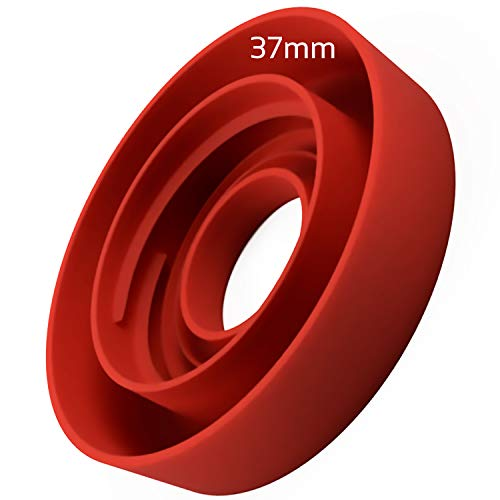 MovilCom® - Adaptador de Botella para dispensador de Agua Eléctrico Compatible con Botellas 5, 6, 8, 10, 12 litros | para Botellas o adaptadores con diámetro 37mm (37mm)