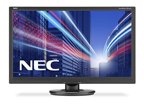 "NEC AccuSync AS242W LED Display 61 cm (24"") Full HD Plana Negro - Monitor (61 cm (24""), 1920 x 1080 Pixeles, Full HD, LED, 5 ms, Negro)"