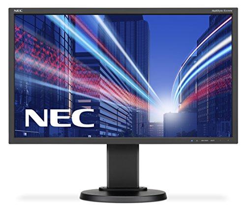 "NEC MultiSync E243WMi 23.8"" Full HD IPS Negro Plana Pantalla para PC - Monitor (60,5 cm (23.8""), 1920 x 1080 Pixeles, LED, 6 ms, 250 CD/m², Negro)"