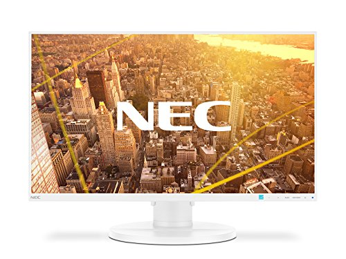 "NEC MultiSync E271N LED Display 68,6 cm (27"") Full HD Plana Blanco - Monitor (68,6 cm (27""), 1920 x 1080 Pixeles, Full HD, LED, 6 ms, Blanco)"