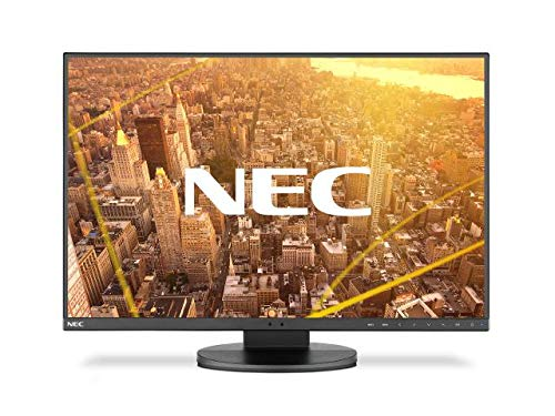 """NEC MultiSync EA241F LED Display 61 cm (24"""") WUXGA Plana Negro - Monitor (61 cm (24""""), 1920 x 1200 Pixeles, WUXGA, LED, 5 ms, Negro)"""