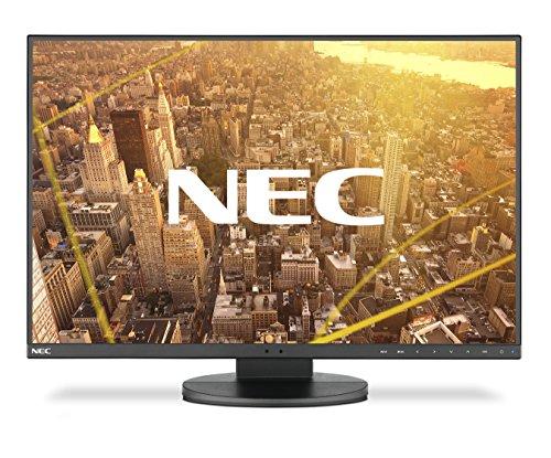 "NEC MultiSync EA245WMi-2 Pantalla para PC 61 cm (24"") WUXGA LED Plana Negro - Monitor (61 cm (24""), 1920 x 1200 Pixeles, WUXGA, LED, 6 ms, Negro)"