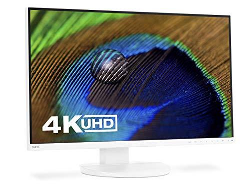"NEC MultiSync EA271U Pantalla para PC 68,6 cm (27"") 4K Ultra HD LED Plana Blanco - Monitor (68,6 cm (27""), 3840 x 2160 Pixeles, 4K Ultra HD, LED, 5 ms, Blanco)"