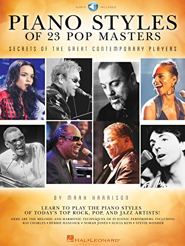 Piano Styles of 23 Pop Masters: Secrets of the Great Contemporary Players (English Edition)