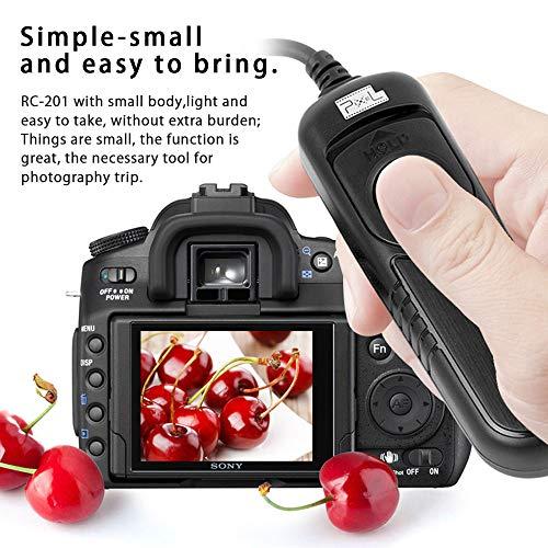 PIXEL RC-201/UC1 Mando a Distancia Disparador Cable Remoto para Olympus cámaras
