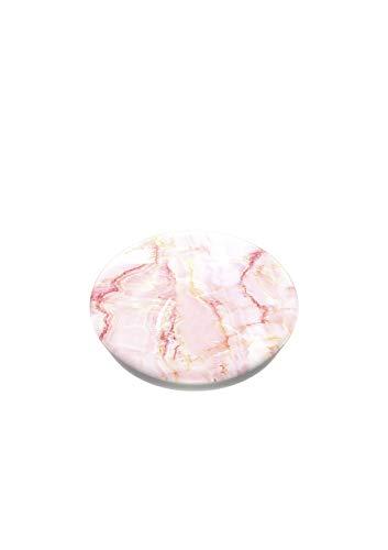 PopSockets PopGrip - Soporte y Agarre para Teléfonos Móviles y Tabletas con un Top Intercambiable - Rose Marble