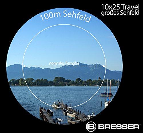 Prismáticos de Bolsillo Bresser Travel 10x25