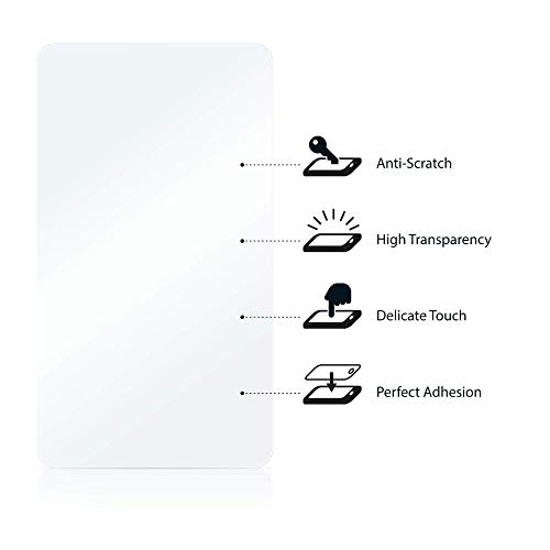 savvies Protector Pantalla Compatible con Mazda Navigation System Tomtom NB1 (6 Unidades) Pelicula Ultra Transparente