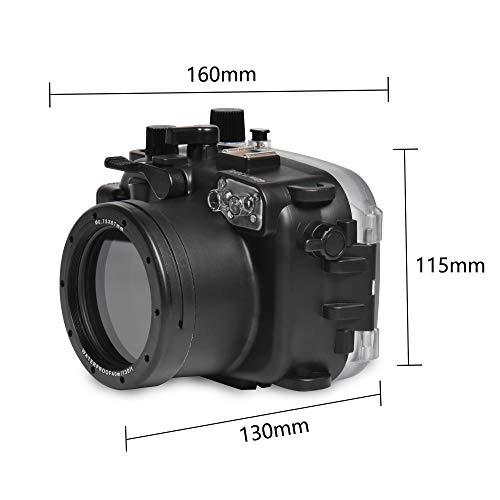 Sea ranas para Canon G7X-III 130ft/40m carcasa submarina