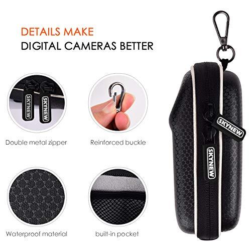 SKYNEW Funda para Cámara Canon ,Bolsa para Cámara ,Powershot SX730/SX720 SX620 HSG9 X Nikon COOLPIX A900 W100 PANASONIC Lumix DMC TZ80 TZ70 Sony Cyber-Shot DSC WX500 / HX90 / HX60