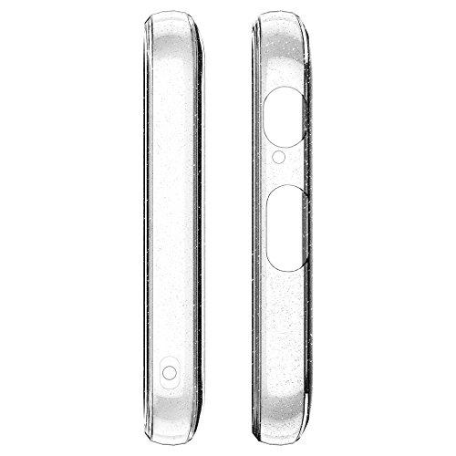 Spigen Funda Liquid Crystal Glitter Compatible con Samsung Galaxy A5 2017, Protección Delgada de Gel Silicona y claridad Premium de TPU - Transparente