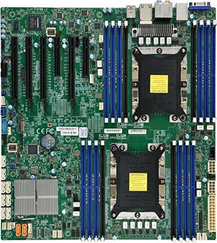 Supermicro X11DAi-N Intel C621 LGA 3647 (Socket P) ATX extendida Placa Base para - Servidor (Intel, LGA 3647 (Socket P), 10,4 GT/s, DDR4-SDRAM, 2133,2400,2666 MHz, 2048 GB)