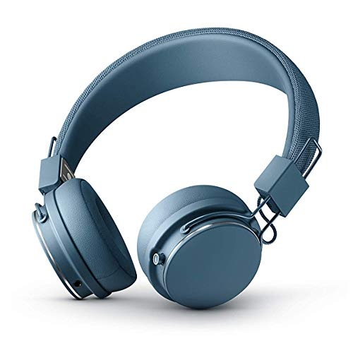 Urbanears Plattan 2 Bluetooth Indigo Supraaural Diadema auricular - Auriculares (Supraaural, Diadema, Inalámbrico y alámbrico, 106 dB, 145 g, Indigo)