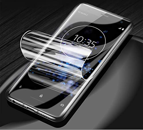 Vaxson - Juego de 4 protectores de pantalla compatibles con Motorola Moto G 3ª generación XT1550 XT1541, Ultra HD Film Protector [no vidrio templado] TPU flexible protector de pantalla
