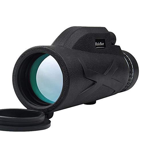 ZQEDY Telescopio monocular 80 x 100 Zoom HD visión Nocturna cámara portátil fotografía al Aire Libre Rey Clip Ajustable Lente óptica Impermeable (1), No nulo, como se Muestra en la Imagen, 1