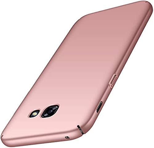 BCIT Funda Samsung Galaxy A5 2017 / A520F Samsung Galaxy A5 2017 / A520F Carcasa [Ultra-Delgado] [Ligera] Anti-rasguños Estuche para Samsung Galaxy A5 2017 / A520F - Rose Oro