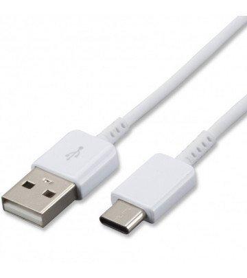 Cable auténtico de carga y sincronización para Samsung Galaxy A3 (2017), A5 (2017), A7 (2017) y compatible con todos los otros dispositivos Samsung USB tipo C (cable tipo C solamente)