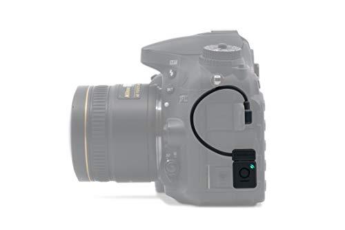 Unleashed - Disparador Remoto con Bluetooth para Nikon (Control Completo Mediante App, Timelapse, exposición Prolongada, geoetiquetado y vídeo) Modelo N2 para la mayoría de cámaras Nikon con 8P-USB