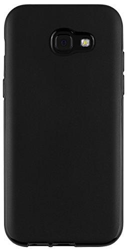 mumbi Funda Compatible con Samsung Galaxy A5 (2017) Caja del teléfono móvil, Negro