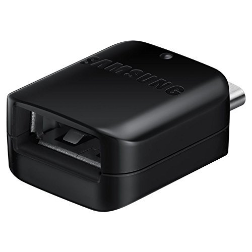 SAMSUNG EE-UN930 USB Typ-C USB Typ-A Negro Adaptador de Cable - Adaptador para Cable (USB Typ-C, USB Typ-A, Negro)- Versión Extranjera