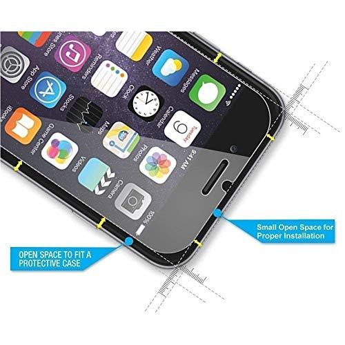 REY 3X Protector de Pantalla para Motorola Moto One Vision - One Action, Cristal Vidrio Templado Premium