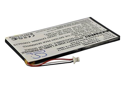Batería Compatible con Creative Zen Vision M 30GB / 60GB 1400mAh - BA20603R79914 LPCS285385