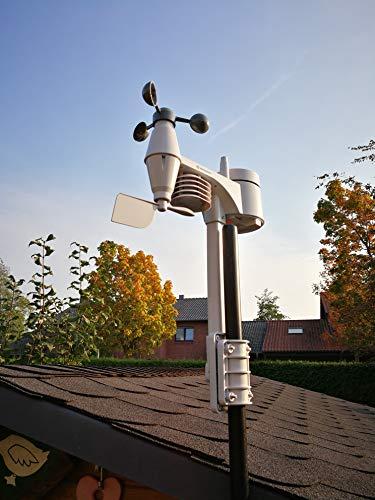 Bresser Centro meteorológico 5en 1–Estación meteorológica, Blanco