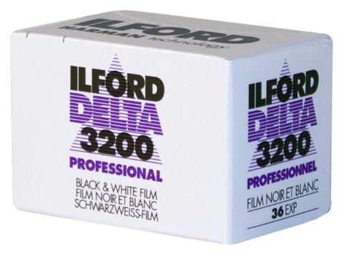 Ilford ILF103031 - Película Blanco y Negro (35mm, dp3200 Delta 3200-36) Multicolor