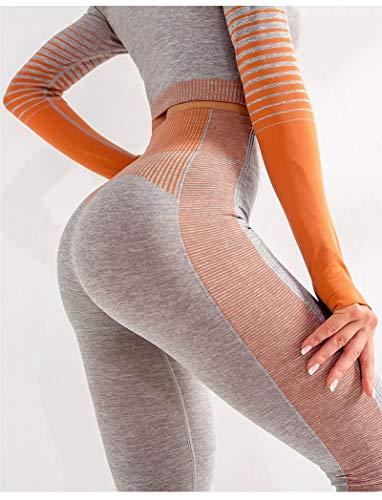Leggings Leggings Deportivos De Cintura Alta para Mujer, Ropa Deportiva para Gimnasio, Ropa Deportiva Sin Costuras, Legging para Mujer, Entr