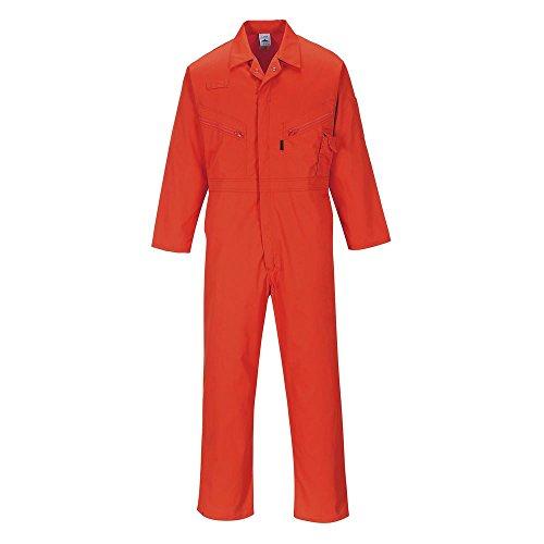 Portwest C813 - boilersuit postal, color naranja, talla XL